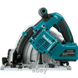 18V X2 LXT Li Ion Plunge Circular Saw Cordless Battery 55T 6.5 in Carbide Blade