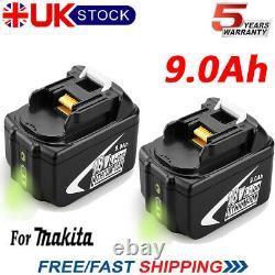 2X For Makita 9.0AH 18V BL1890B BL1860B BL1850 BL1840 BL1830 LXT Li-ion Cordless