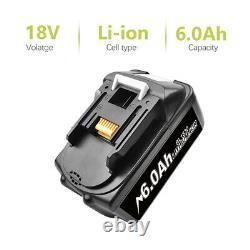 2x Für Ersatzakku Makita BL1850 18V 6AH LXT Li-ion BL1860 BL1840 BL1830 Batterie