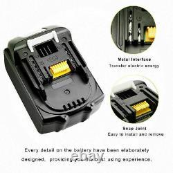 4x 18V BL1860 Battery For Makita LXT Li-ION 6.0AH BL1860B BL1850 BL1840B BL1830
