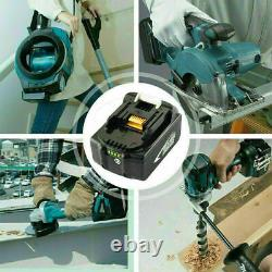 5.5Ah Makita Replace Battery 18V Li-ion for BL1850B BL1860 BL1815 LXT LED 2 Pack