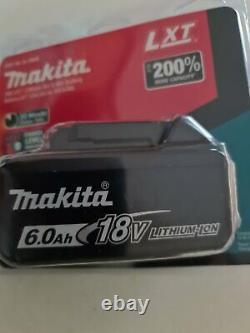 +Genuine Makita 18V 6.0Ah Li-Ion LXT Battery BL1860B Brand New in Pack 2021
