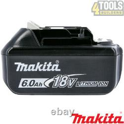 Genuine Makita BL1860 FOUR PACK 18v 6.0ah LXT Li-ion Battery with star