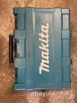 MAKITA DHP458 18v LXT Li-ion 2 Speed COMBI DRILL 3ah BATTERY CHARGER CASE