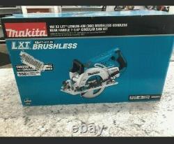 MAKITA XSR01PT NEW 18V LXT Li-Ion Brushless Cordless 7-1/4 in Circular Saw Kit