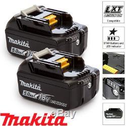 Makita BL1850X2 2 x 18v 5.0Ah LXT Li-ion Genuine Makstar Battery Pack