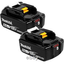 Makita BL1860B x 2 18V LXT Li-ion 6.0Ah Genuine Battery 197422-4 Twin Pack