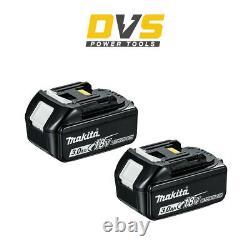 Makita Bl1830b X 2 18v Lxt 3.0ah Li-ion Battery Twin Pack Bl1830 Dtd152z Dhp482z