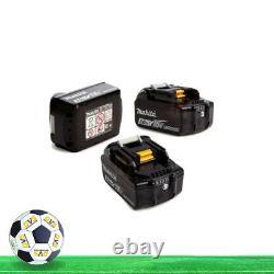 Makita Bl1830b X 3 18v Lxt 3.0ah Li-ion Battery Bl1830 Dtd152z Dhp482z Dtd154z