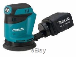 Makita DBO180Z 18v LXT Cordless li-ion 125mm Random Orbit Sander (Body Only)