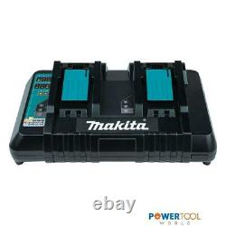 Makita DC18RD 14.4-18v LXT Li-Ion Dual Port Twin Rapid Optimum Charger 240v