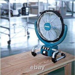 Makita DCF300Z 14v 18v 240v LXT Cordless Portable 13 3 Speed Job Site Fan +Plug