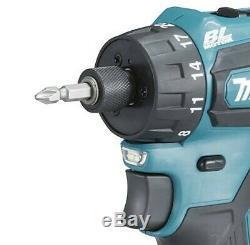 Makita DDF083Z 18v LXT Li-ion 6.35mm Drill Driver Cordless 1/4 Hex + Makpac