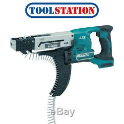 Makita DFR550Z 18V LXT Li-Ion Cordless Autofeed Screwdriver Body Only
