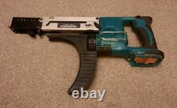 Makita DFR750 LXT 18V Li-ion Auto-Feed cordless screwdriver plus screw strips