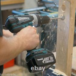 Makita DHP458Z 18V LXT Li-ion Cordless Combi Drill With 1 x 3.0Ah BL1830 Battery