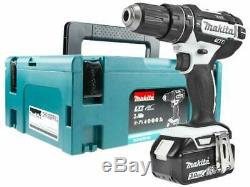 Makita DHP482RFWJ 18V Li-ion LXT Combi Drill with 2 x 3ah + Makpac Case Cordless