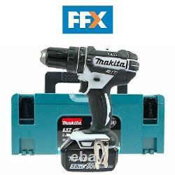 Makita DHP482WHITE/3.0AH 18V 1x3.0Ah Li-ion LXT Combi Drill Makpac Kit