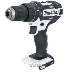 Makita DHP482Z White LXT Li-ion 18V Combi Drill With 1 x 3Ah Battery