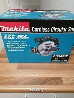 Makita DHS680Z 18V LXT Li-ion Cordless Brushless Circular Saw 165mm Body Only