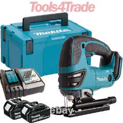 Makita DJV180Z 18V LXT Li-ion Jigsaw with 2 x 3.0Ah Batteries & Charger in Case