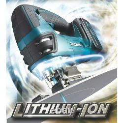 Makita DJV180Z 18V Li-Ion LXT Cordless Jigsaw 3-Stage Orbital Action Body only