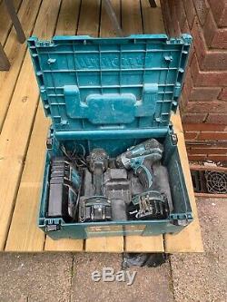 Makita DLX2145TJ 18V 2 x 3.0 Ah Li-ion Combi Hammer Drill Impact Driver Kit LXT