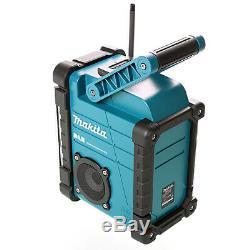 Makita DMR109 18v LXT/ 10.8v CXT Li-ion Cordless Blue DAB Digital Job Site Radio
