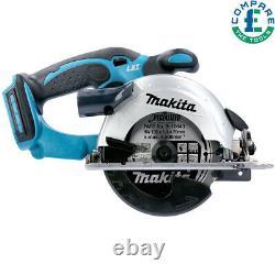 Makita DSS501 18V LXT Cordless Li-Ion Circular Saw With Free XXL Work T-Shirt