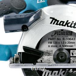 Makita DSS501Z 18v LXT Li-ion Cordless Circular Saw 136mm Body Only