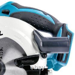Makita DSS611Z 18V li-ion LXT Circular Saw + 1.5mm 5 Extra 48 Teeth Wood Blades