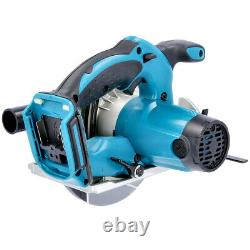 Makita DSS611Z 18V li-ion LXT Circular Saw With 1 x 3Ah Battery, Charger & Case
