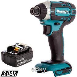 Makita DTD152Z 18V LXT Li-ion Cordless Impact Driver With 1 x 3Ah BL1830 Battery