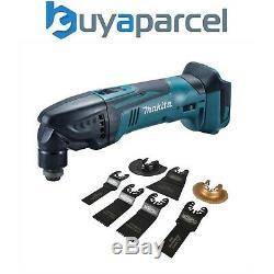 Makita DTM50Z 18v LXT Li-Ion Cordless Multi Tool Bare Unit + 7pc Accessory Set