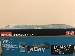 Makita DTM51Z 18V 390W Li-Ion LXT Keyless 3.0Ah Multi-Tool Body Only