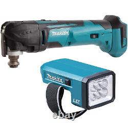 Makita DTM51Z LXT 18V Li-Ion Oscillating MultiTool with DML186 Flashlight Torch
