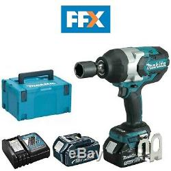 Makita DTW1001RTJ 18V 2x5.0Ah Li-ion LXT Brushless 3/4In Impact Wrench Kit