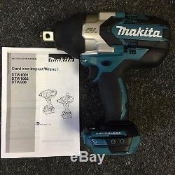 Makita DTW1001Z 18v Li-Ion Brushless LXT 3/4 Impact Wrench Nut Runner Body Only