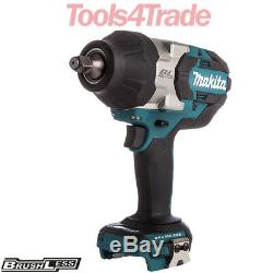 Makita DTW1002Z 18V LXT Li-ion Brushless 1/2 Impact Wrench Body Only