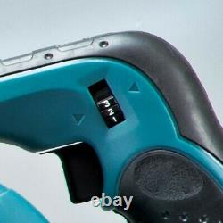 Makita DUB182 LXT 18v Li-Ion Leaf Blower Vacuum + 2 x 1.5ah Batteries + Bag