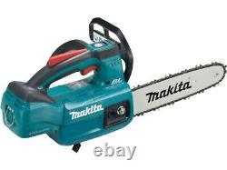Makita DUC254Z 18V LXT Li-Ion BL Top Handle Chainsaw (Bare Unit)