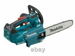 Makita DUC256PG2 18Vx2 2x6.0Ah 25cm LXT Li-Ion BL Chainsaw