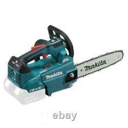 Makita DUC256PG2 Twin 18v 36v LXT Li-Ion Brushless TopHandle Chainsaw 25cm 2x6ah