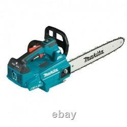 Makita DUC306 Twin 18v 36v LXT Li-Ion Brushless TopHandle Chainsaw 30cm 2x6ah