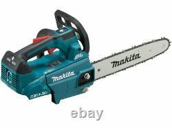Makita DUC306PG2 18Vx2 2x6.0Ah 30cm LXT Li-Ion BL Chainsaw Auto Off + Braked
