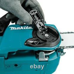 Makita DUC353RT2 Twin 18v / 36v LXT Cordless 35cm Chainsaw Li-Ion 2x Batteries