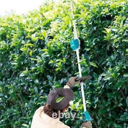 Makita DUN600LZ LXT 18v Li-Ion Brushless Pole Hedge Cutter Trimmer 2x5.0ah