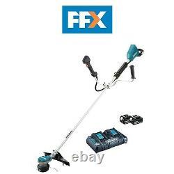Makita DUR368APG2 18Vx2 2x6.0Ah LXT Li-Ion BL Brush Cutter