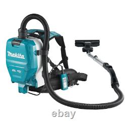 Makita DVC261ZX11 Twin 36/18V LXT Li-ion Backpack Vacuum Cleaner Body Only