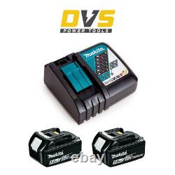 Makita Energy Kit 2x 5.0Ah 18v LXT Li-Ion Batteries BL1850 & DC18RC Fast Charger